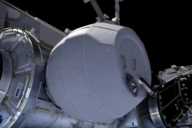 Latest Groundbreaking Inflatable Module To Be Launched To The ISS-Next Week