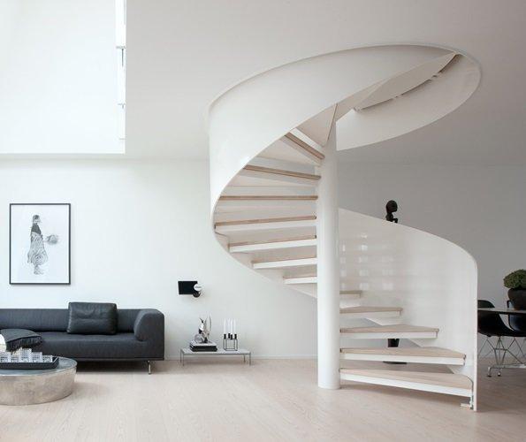 ático minimalista