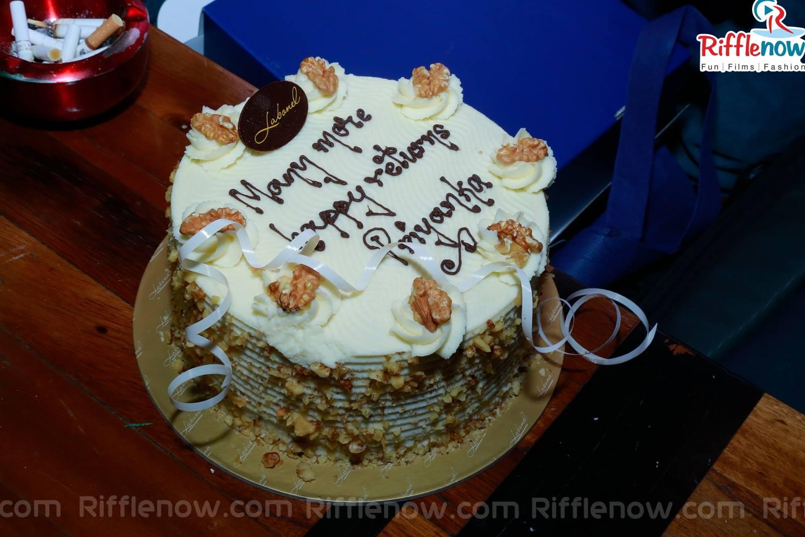 Birthday Name Cake Many More Happy Returns Priyanka Birthday Cake