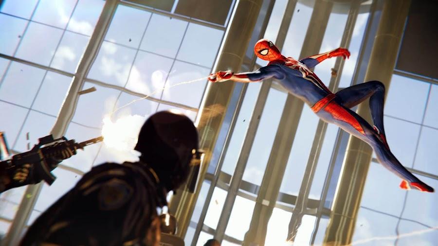 marvel's spider-man gameplay ps4