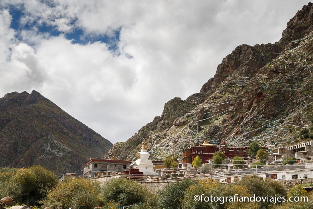 Monasterio Tsurpu en Tibet