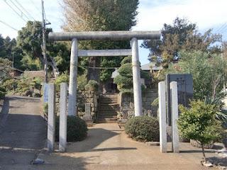 西俣野神明社