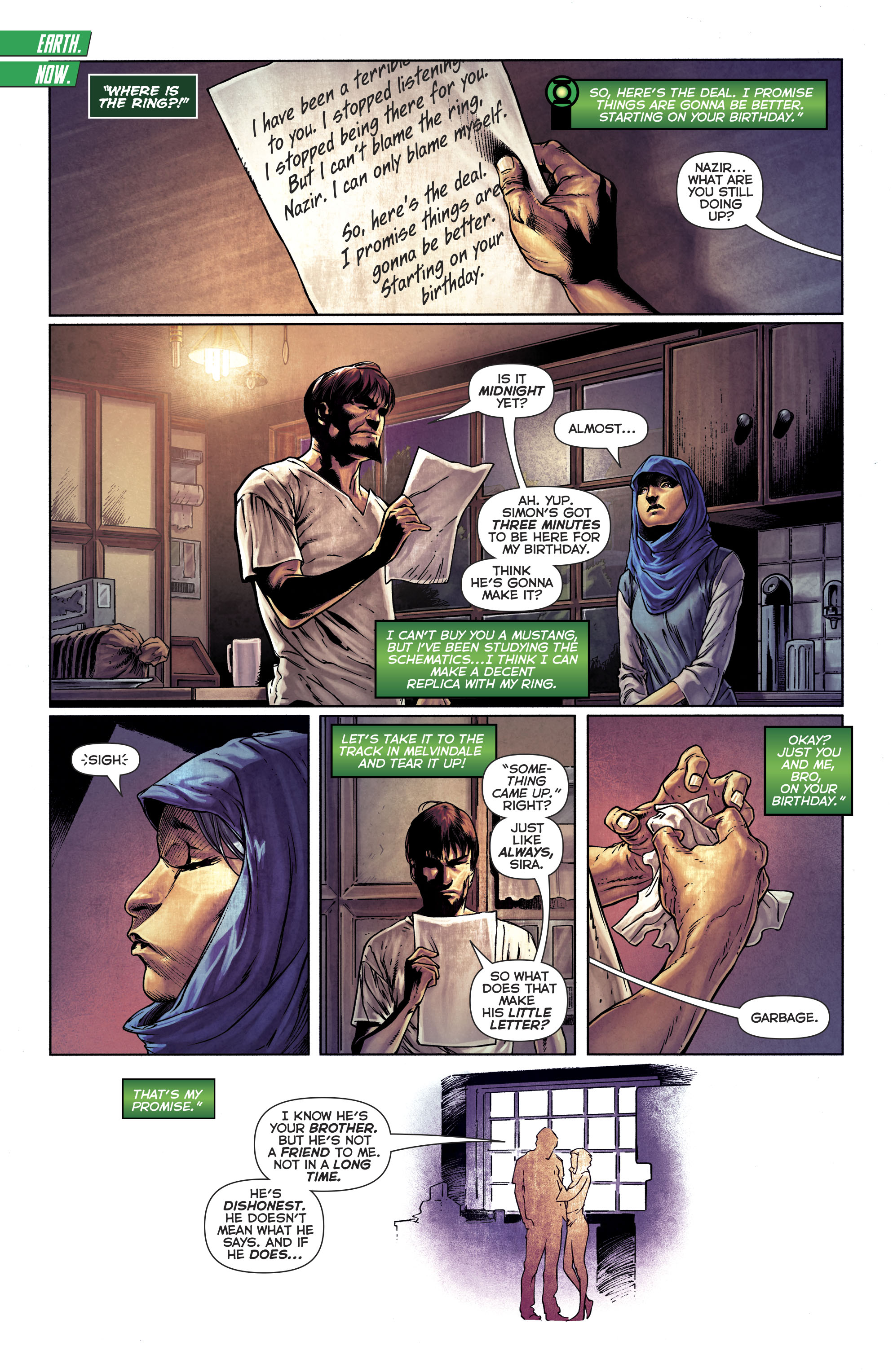 Read online Green Lanterns comic -  Issue #25 - 29