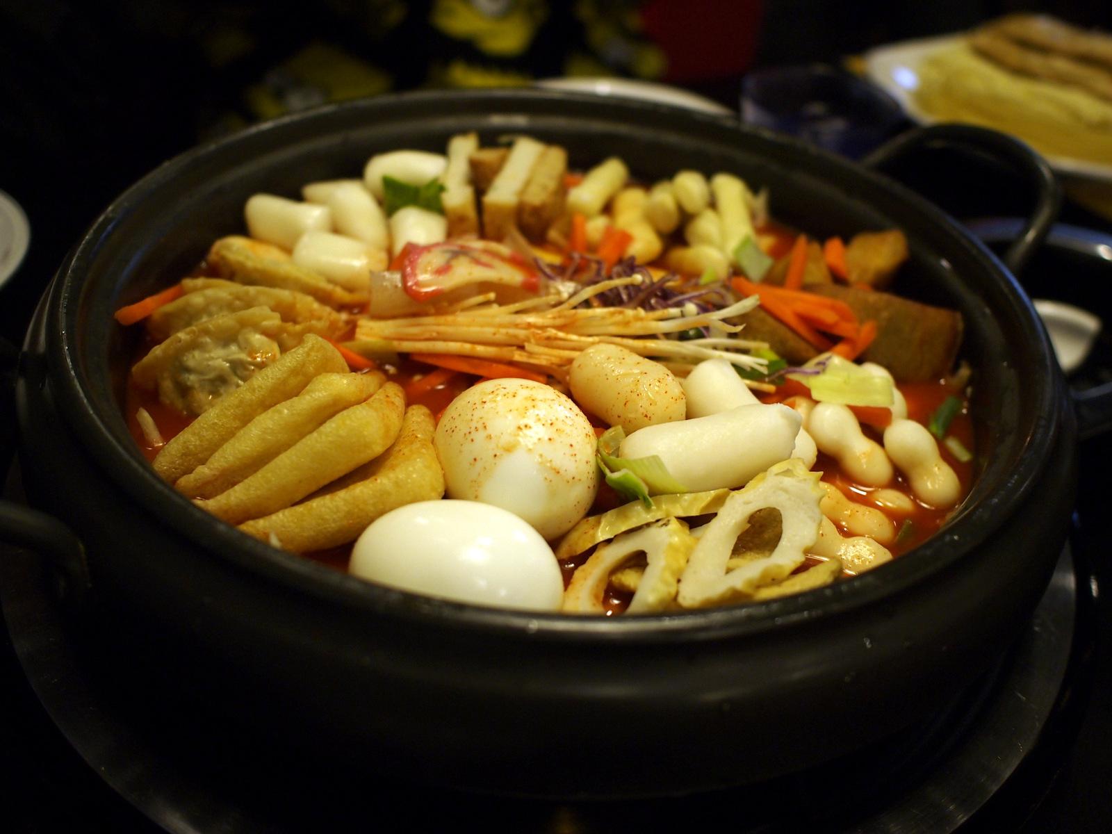 School Food Myeongdong Menu