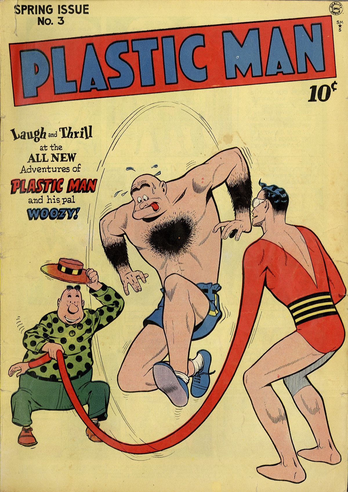 Plastic Man (1943) 3 Page 1