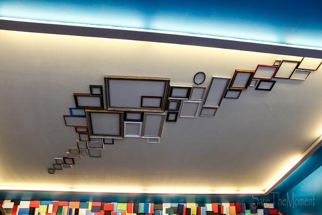 Reiss-Engelhorn-Museum, Mannheim Decke mit Bilderrahmen