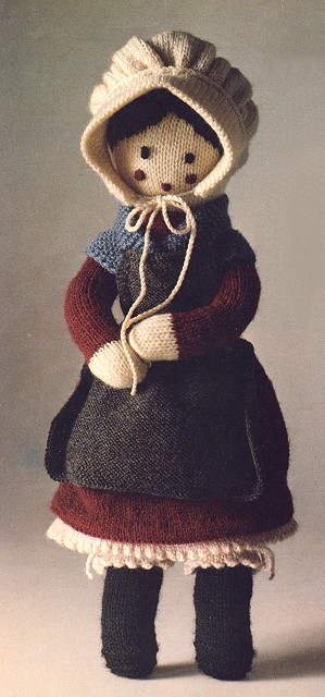 I have the older version of this grandmother doll..