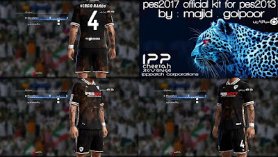 PES 2017 Official Kit For PES 2013 By Majid.glpr
