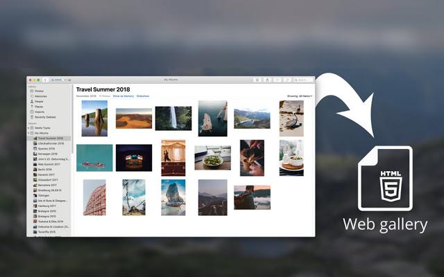هذا البرنامج المدهش والجديد ينشئ صفحة HTML لجميع صورك بضغطة زر واحدة فقط