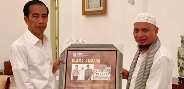 Bertemu Presiden, Arifin Ilham Sampaikan Ketidakadilan yang Dialami Umat Islam