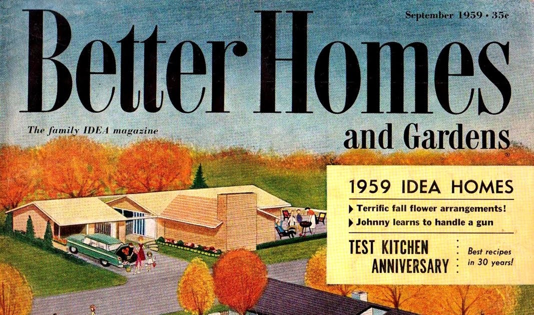 My Life Story: Better Homes And Gardens: 1950s And 60s
