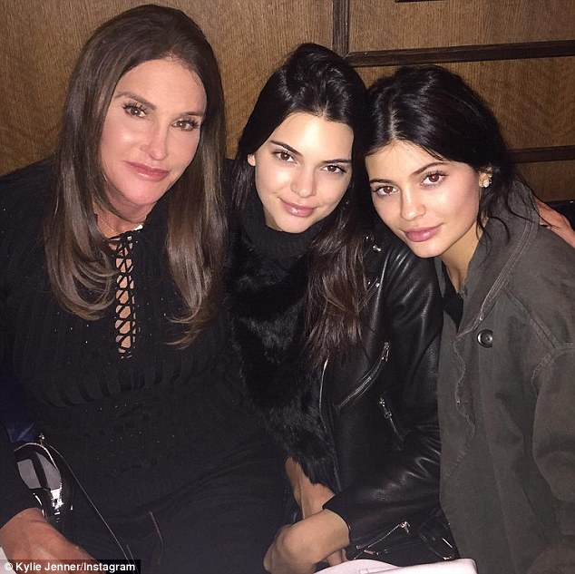 Kylie Jenner, Kenda and Caitlyn Jenner