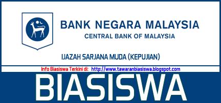 Biasiswa Bank Negara Malaysia (BNM) Ijazah Sarjana Muda (Kepujian) 2016/2017