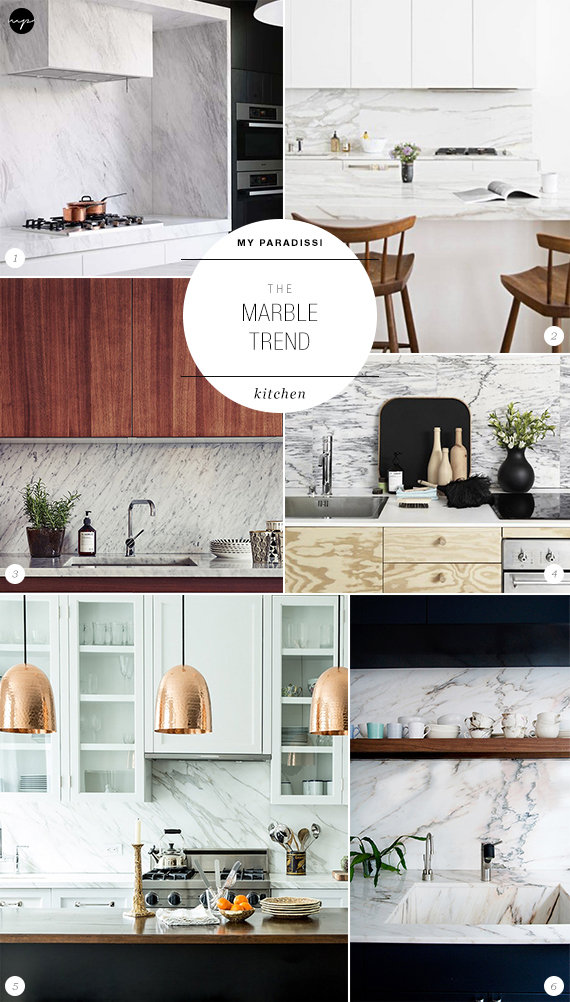The Marble Trend | Kitchen