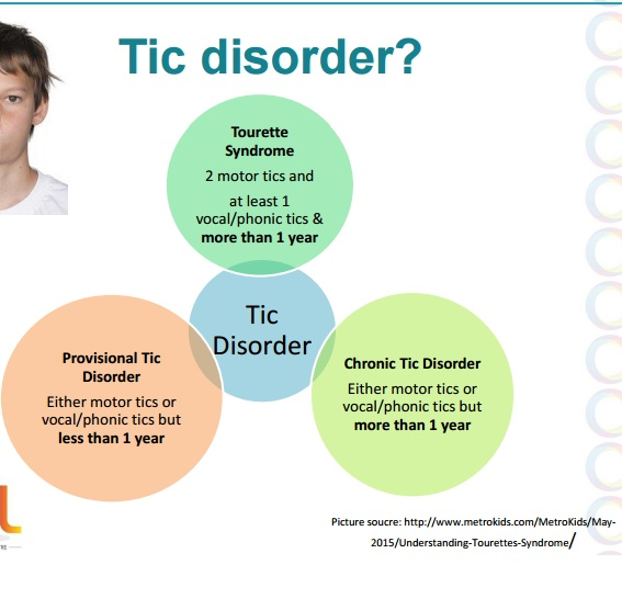 Tourette Syndrome Fact Sheet