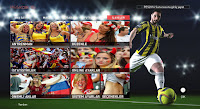 PES 2016 EURO 2016 Girls Graphic Menu By TeKo
