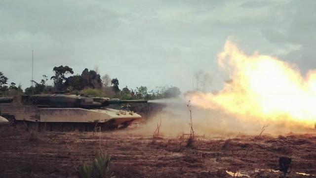 GARANG dan DAHSYAT...! Auman MBT Leopard 2RI, Tank Terbaru TNI AD..!
