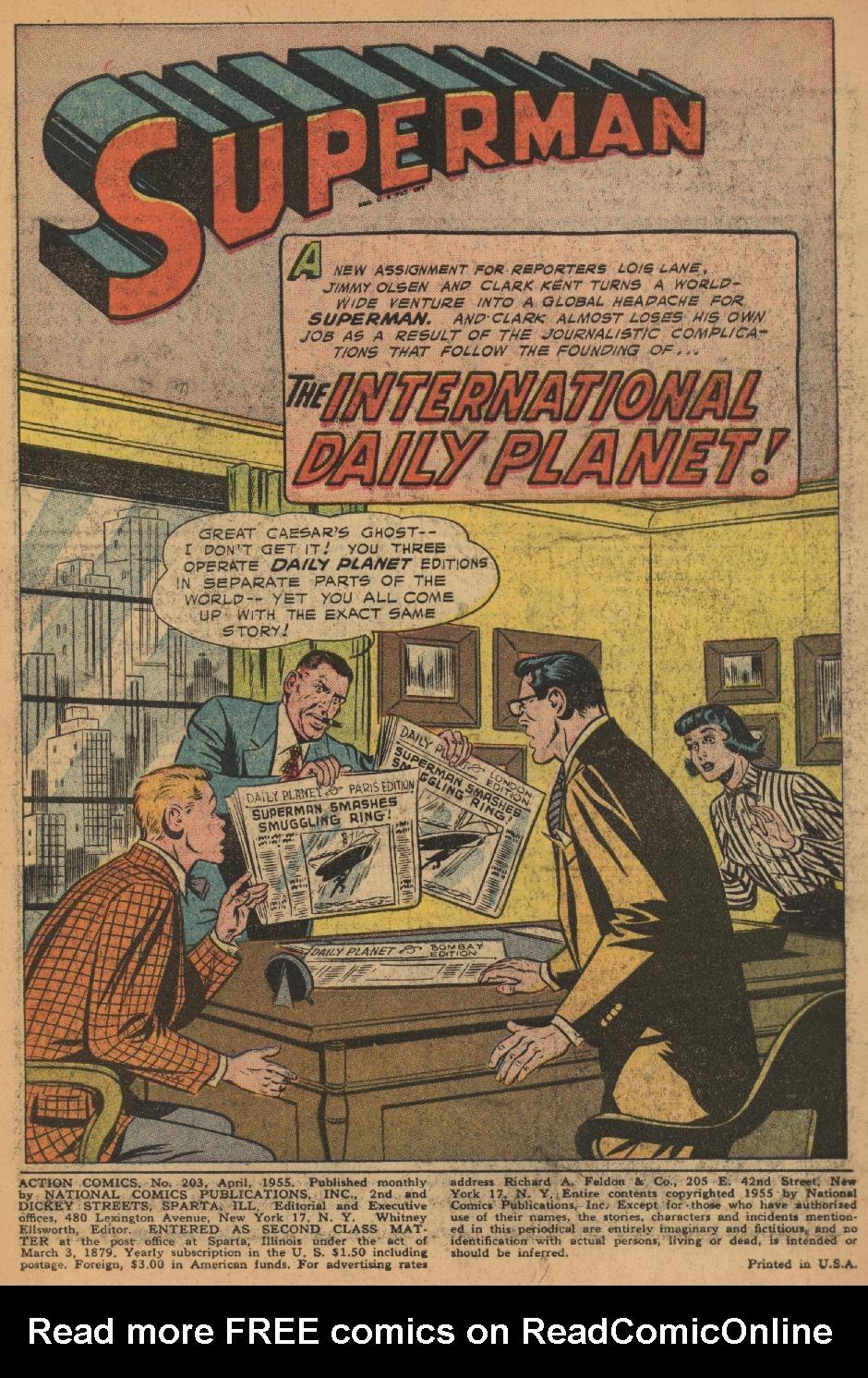 Action Comics (1938) 203 Page 2