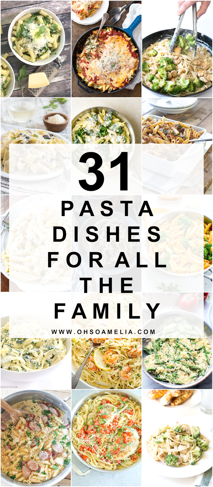 31 Pasta Dishes For All The Family