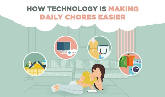 How technology is making everyday chores easier