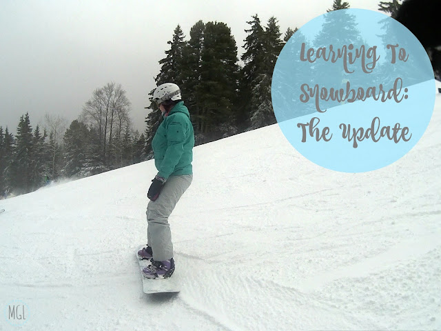 My General Life - Learning to Snowboard - The Update
