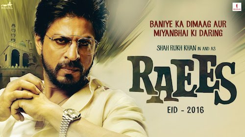 Raees (2016) Teaser Trailer