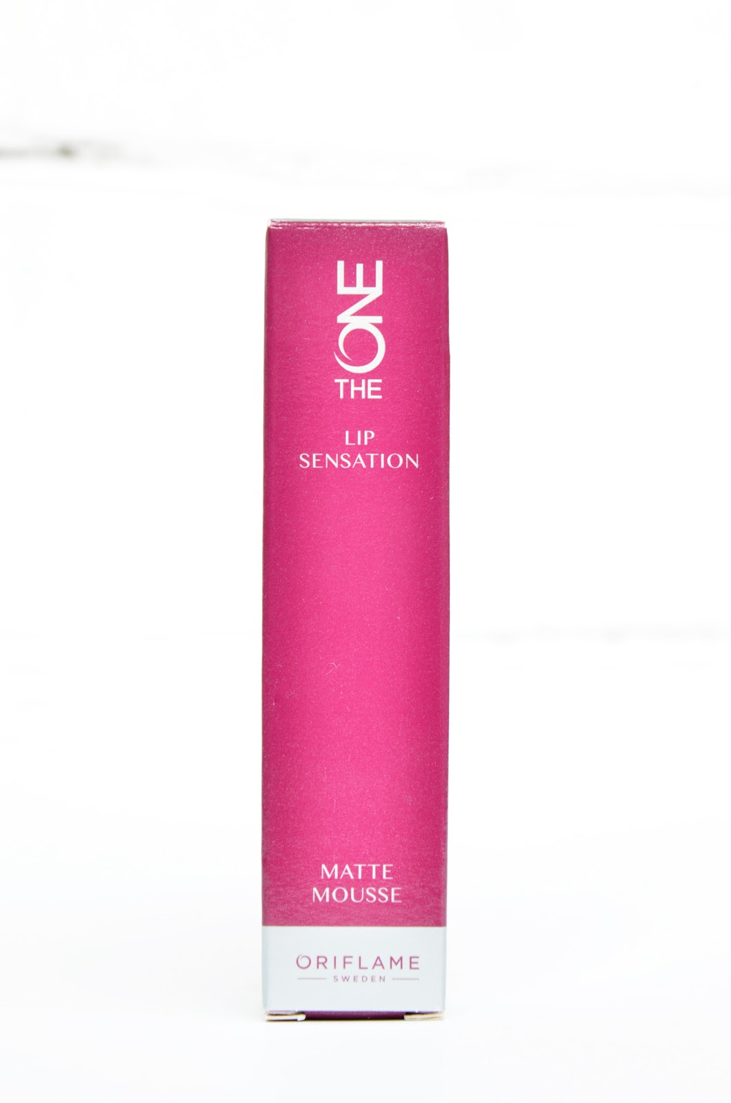 помада-мусс Oriflame The One Lip Sensation Matte Mousse