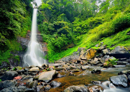 Daya Tarik Objek Wisata Air Terjun Gitgit Di Sukasada