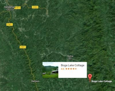 Bogalake Map