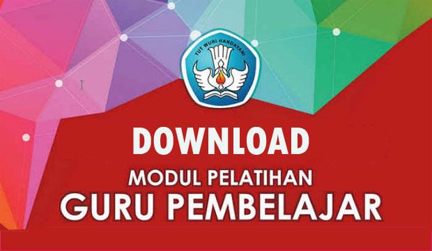 Download modul Guru Pembelajar TK, SD, SMP dan SMA