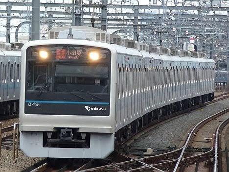 【ダイヤ改正で消滅!】RAPID EXP.表示の快速急行 小田原行き3000形