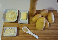 Gratín de patatas. Receta sencilla.