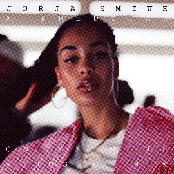Jorja Smith & Preditah - On My Mind (Acoustic) - Single Cover