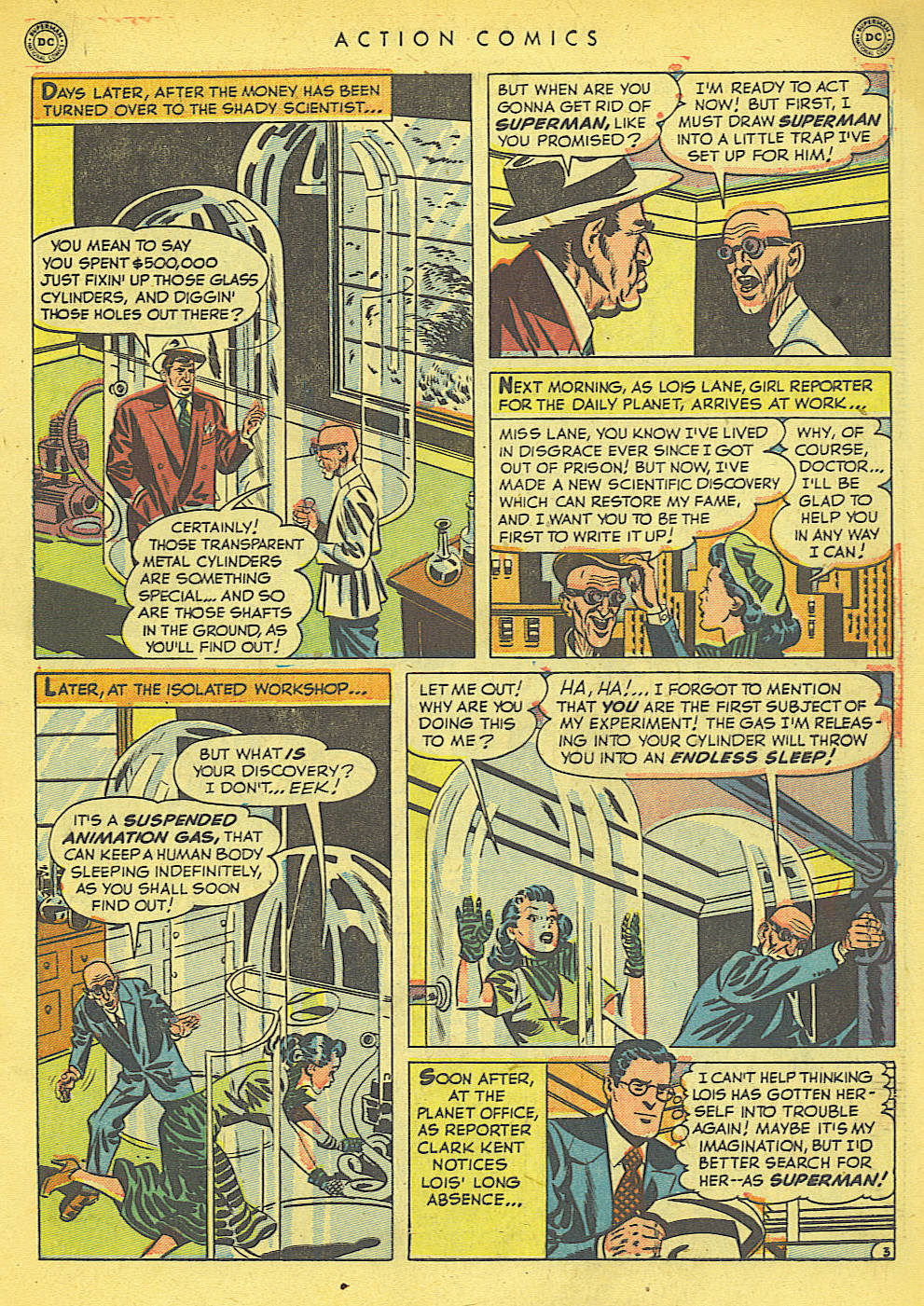 Read online Action Comics (1938) comic -  Issue #152 - 5