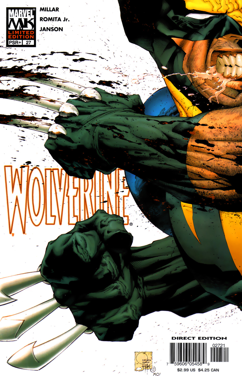Read online Wolverine (2003) comic -  Issue #27 - 2