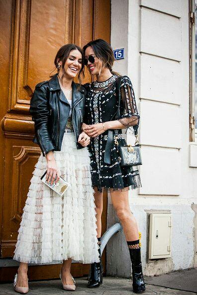 Paris Street week fashion
