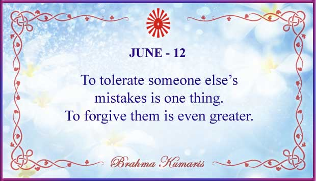 Thought For The Day June 12