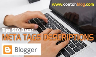 Deskripsi Meta Tag Blogger