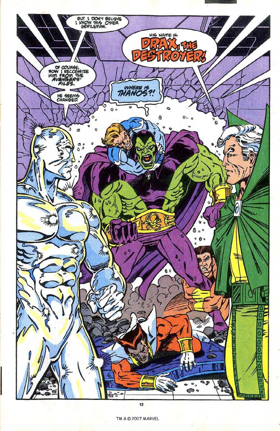 Read online Silver Surfer (1987) comic -  Issue #37 - 15