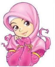 Gambar Kartun Cewek Cantik Memakai Hijab Muslimah Cantik Berjilbab