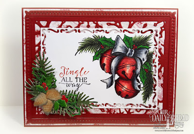 Our Daily Bread Designs Stamp Set: Jingle Bell Time, Our Daily Bread Designs Paper Collection: Snowflake Season, Our Daily Bread Designs Custom Dies:  Snowflake Sky, Christmas Candles,Fancy Foliage, Lovely Leaves, Lavish Layers