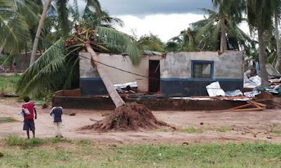 ciclone Kenneth, em C. Delgado