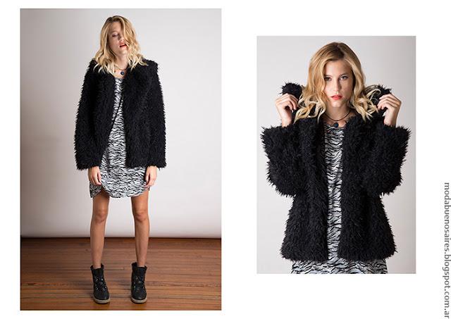 Tapados cortos invierno 2016. Moda invierno 2016.
