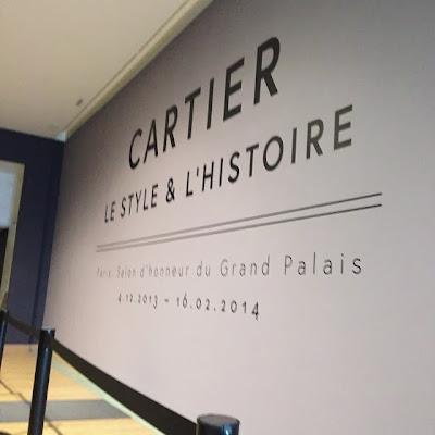 magnifique exposition Cartier à Paris