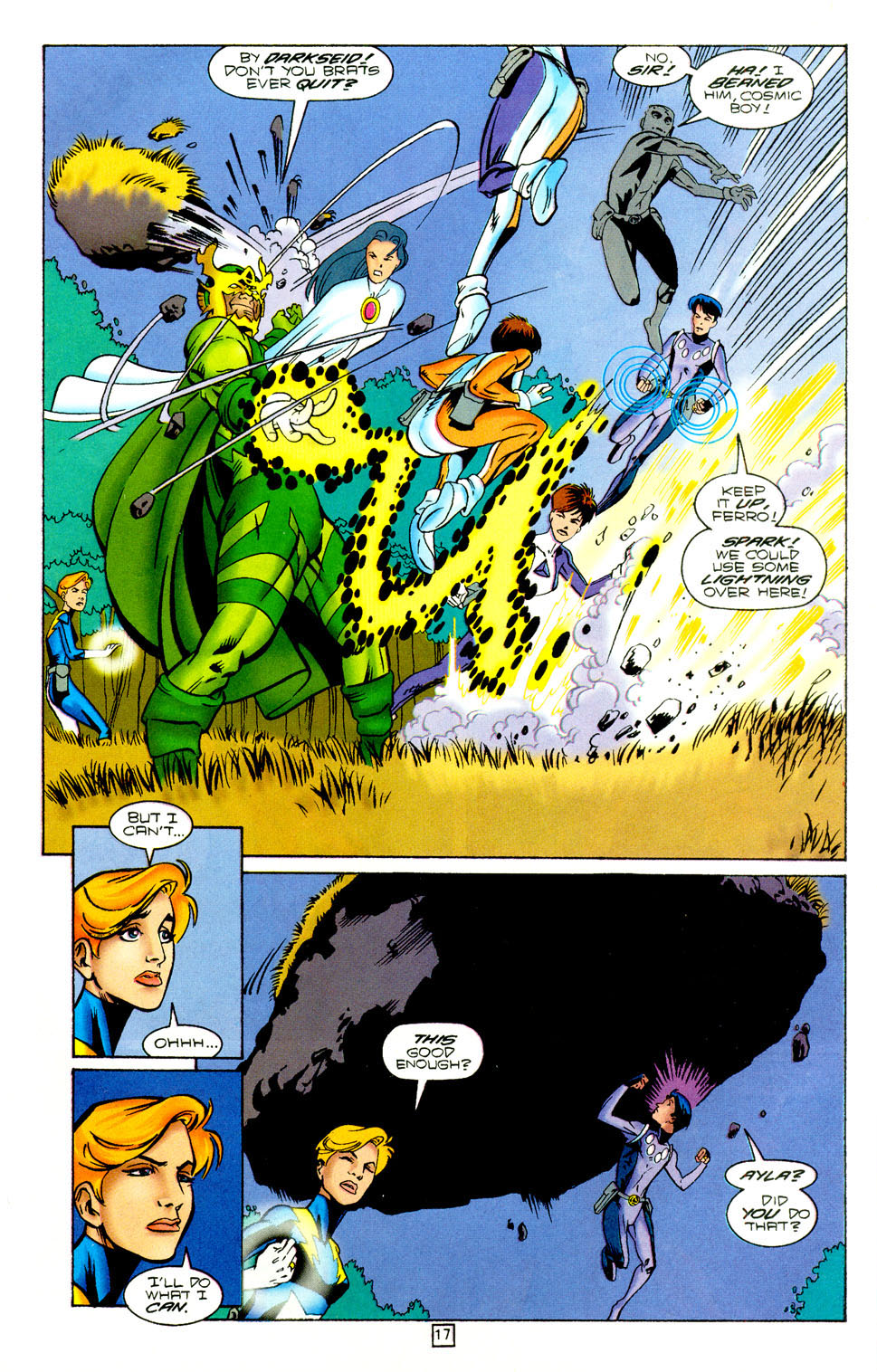 Legion of Super-Heroes (1989) 97 Page 16