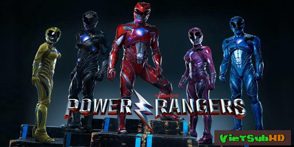 Phim 5 anh em siêu nhân Trailer VietSub HD | Power Rangers Movie 2017