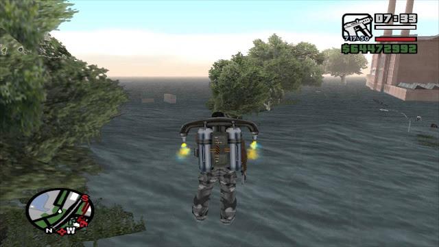 Mod Banjir GTA San Andreas