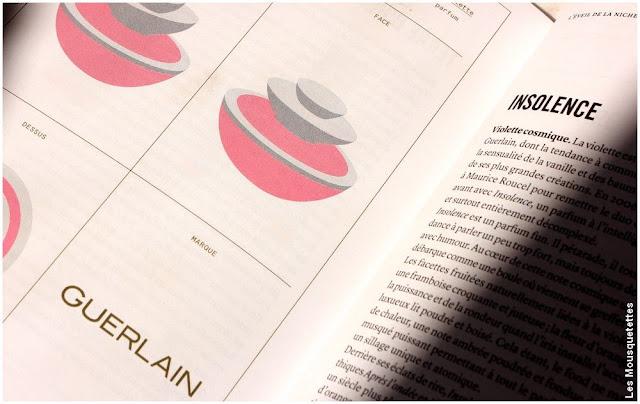 Insolence de Guerlain - Les cent onze parfums à sentir avant de mourir - Livre - Avis blog