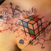 Fanáticos por Matemática tatuam seus corpos