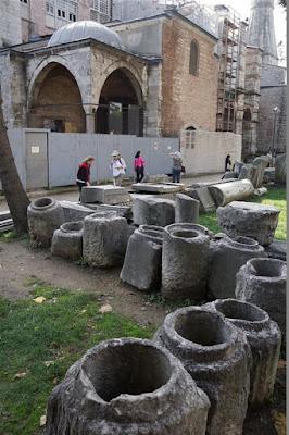 Restos arqueológicos de Santa Sofía